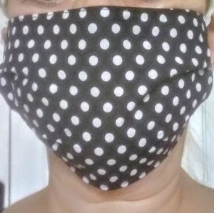 Reusable face mask new 2 ply reversible